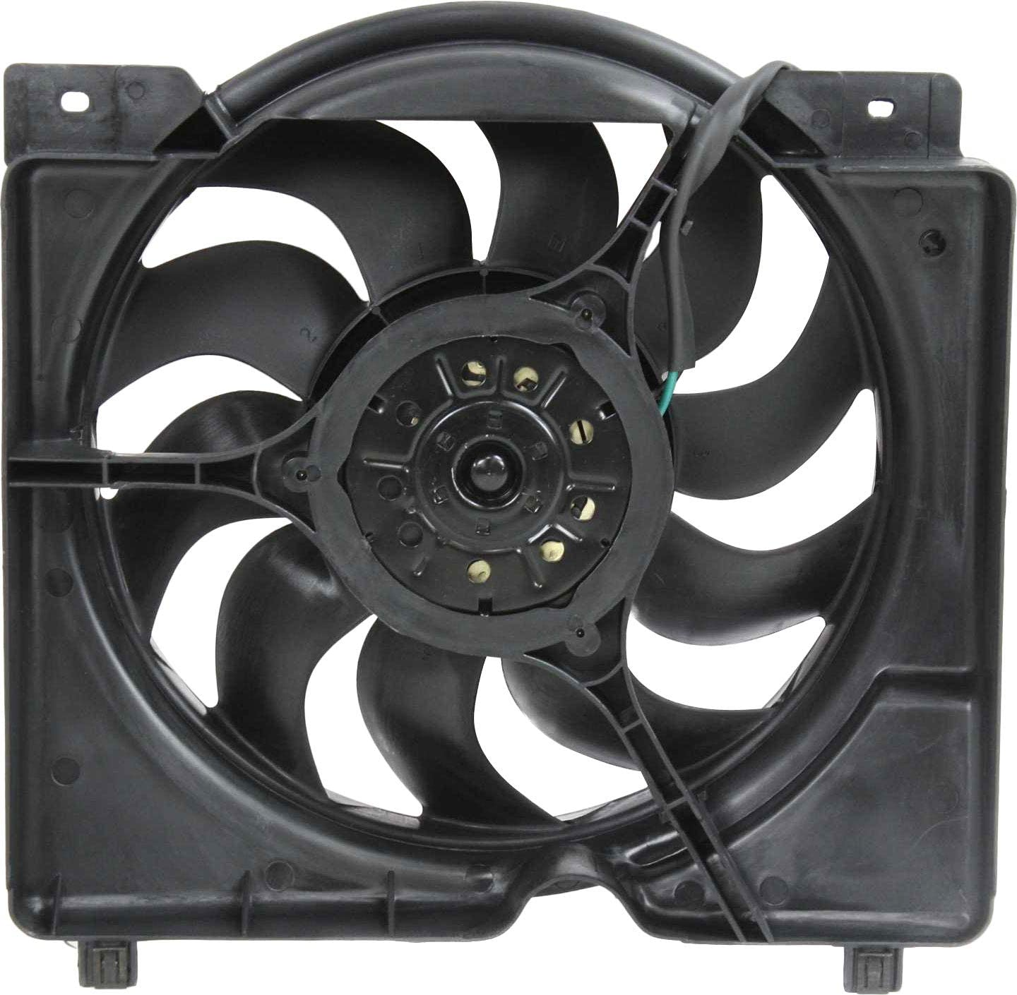 Radiator Fan Assembly for CHEROKEE 97-01 6cyl