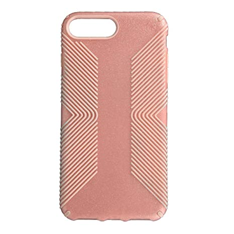 buy online b1c8a 274ef Speck Presidio GRIP and Glitter Case for iPhone 8 Plus 7 Plus - Pink and  Glitter