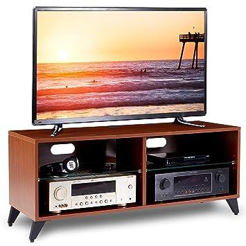 RFIVER Meuble TV Scandinave Armoire Salon Moderne Table télévision ...