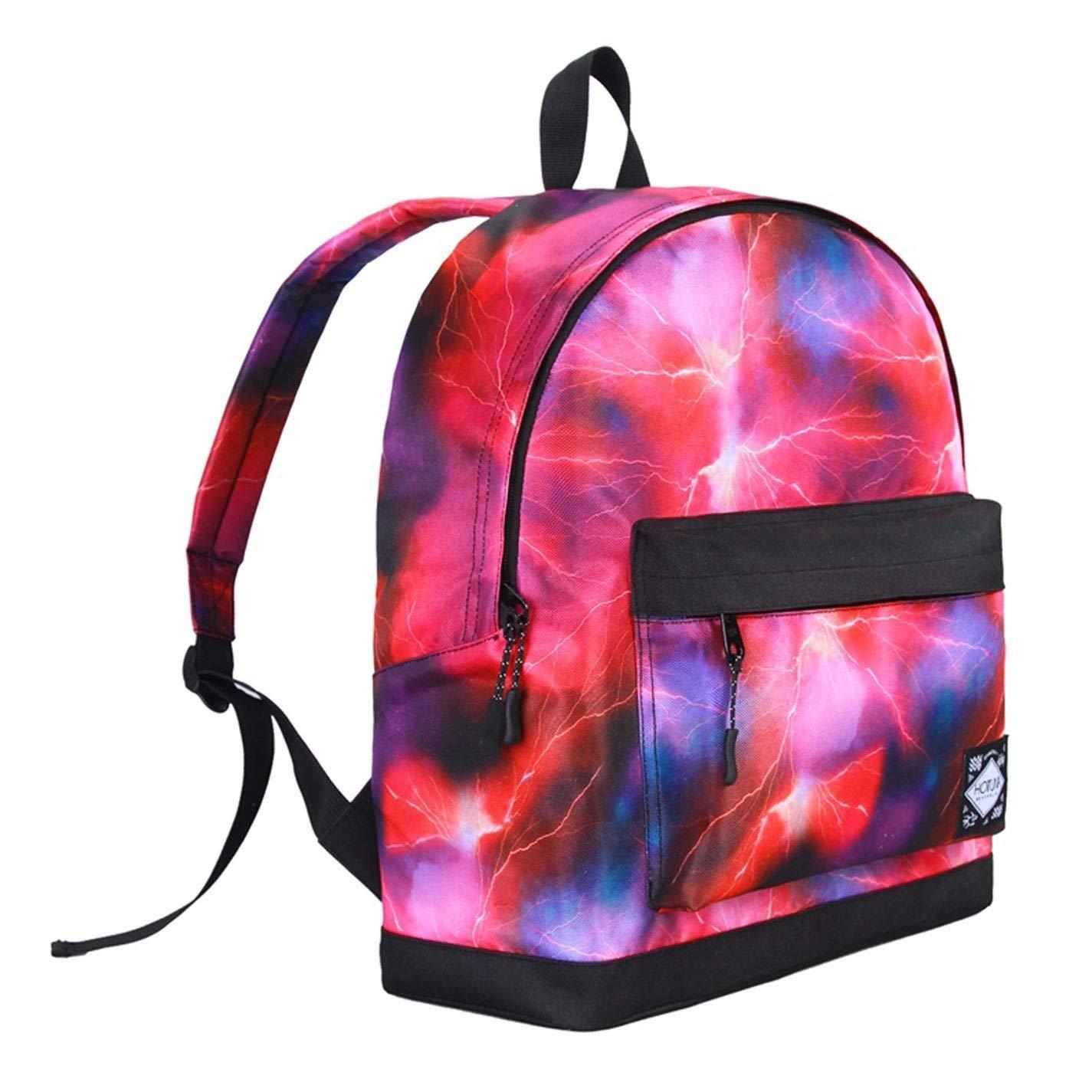 Galaxy  Pink Hot Tuna Galaxy Backpacks Rucksack Backpack Bag Daypack H 40 x W 28 x D 12 (cm) Galaxy  orange