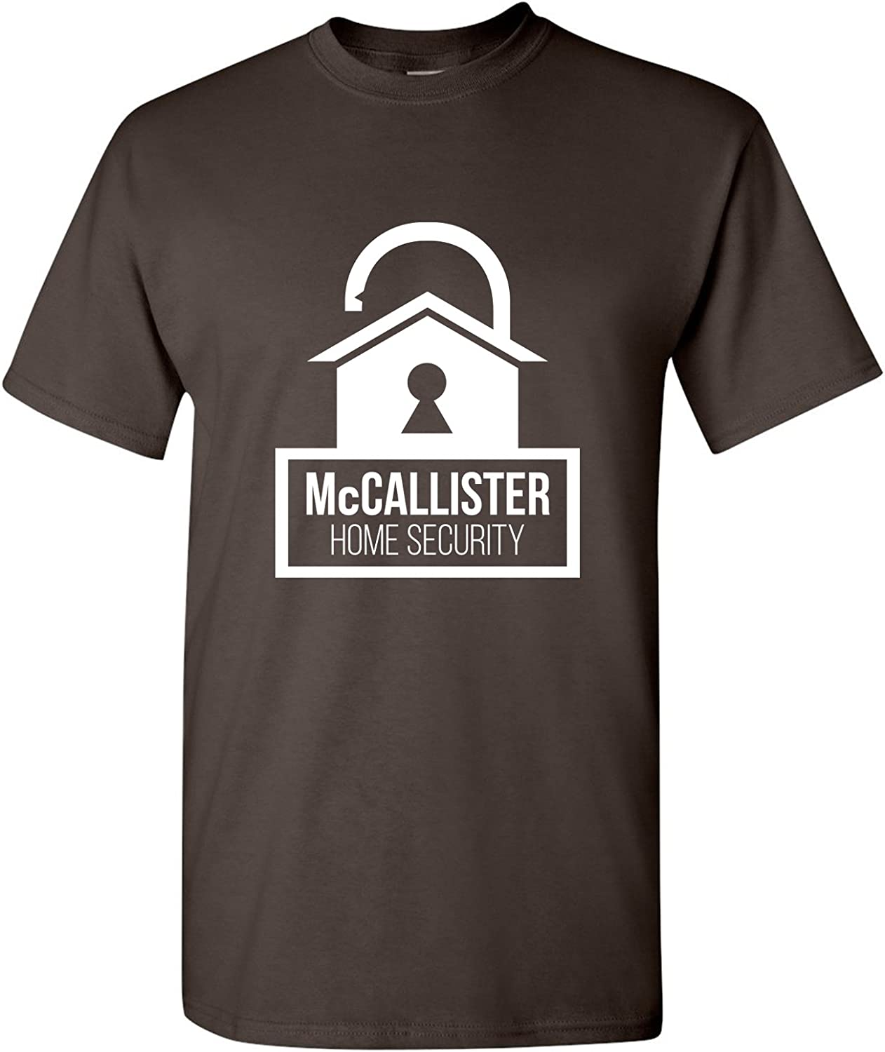 UGP Campus Apparel McCallisters Home Security - Funny Parody Christmas Movie Humor T Shirt