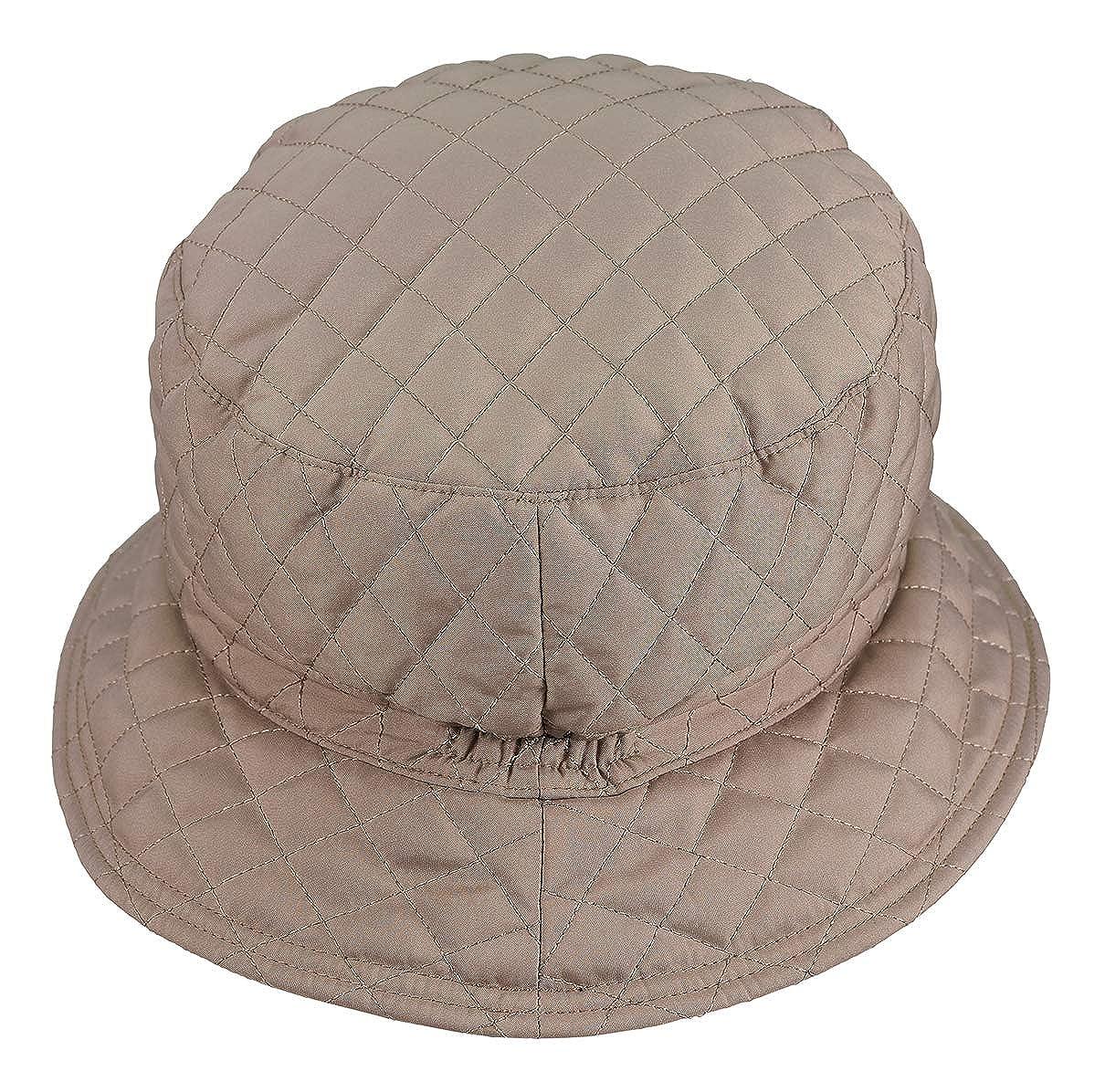 LOEVENICH - Sombrero para Lluvia Acolchado - Outdoor Ropa de Mujer ... a4e350157d4