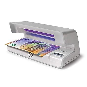 Safescan 50 Gris - Detector UV de billetes falsos, verificación de tarjetas de crédito y documentos de identidad: Amazon.es: Oficina y papelería