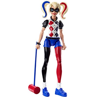 DC Super Hero Girls: Harley Quinn Action Figure: Toys & Games