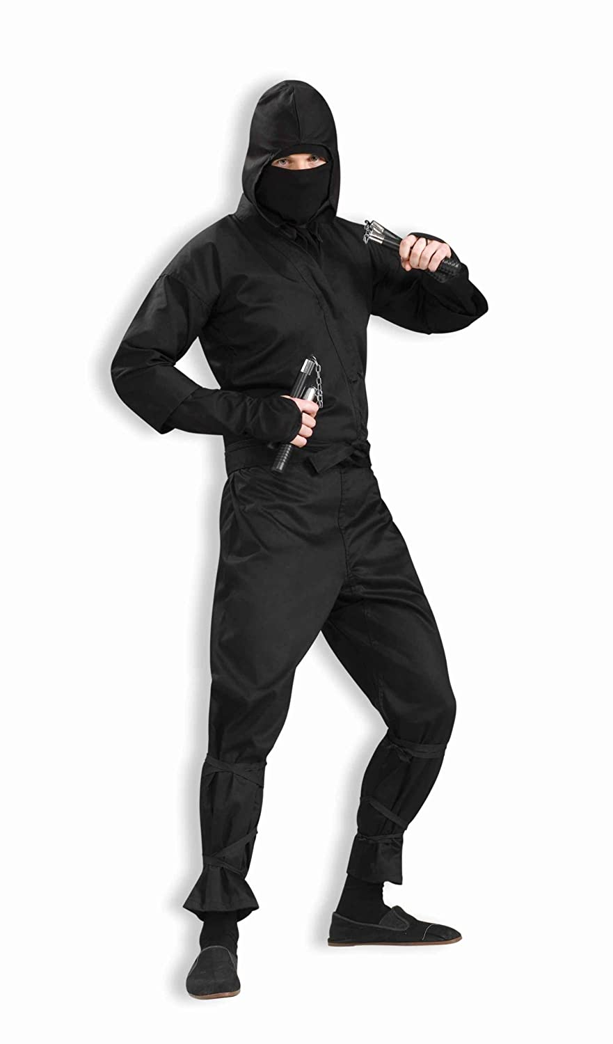 Amazon.com: Forum Novelties Ninja Deluxe Adult Costume ...
