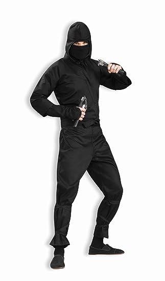 Amazon.com: Mens Deluxe Ninja Costume: Clothing