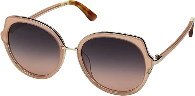 qp0mao1mdL Lottie Blush Sunglasses with Navy Pink Gradient Lens u9Hf6