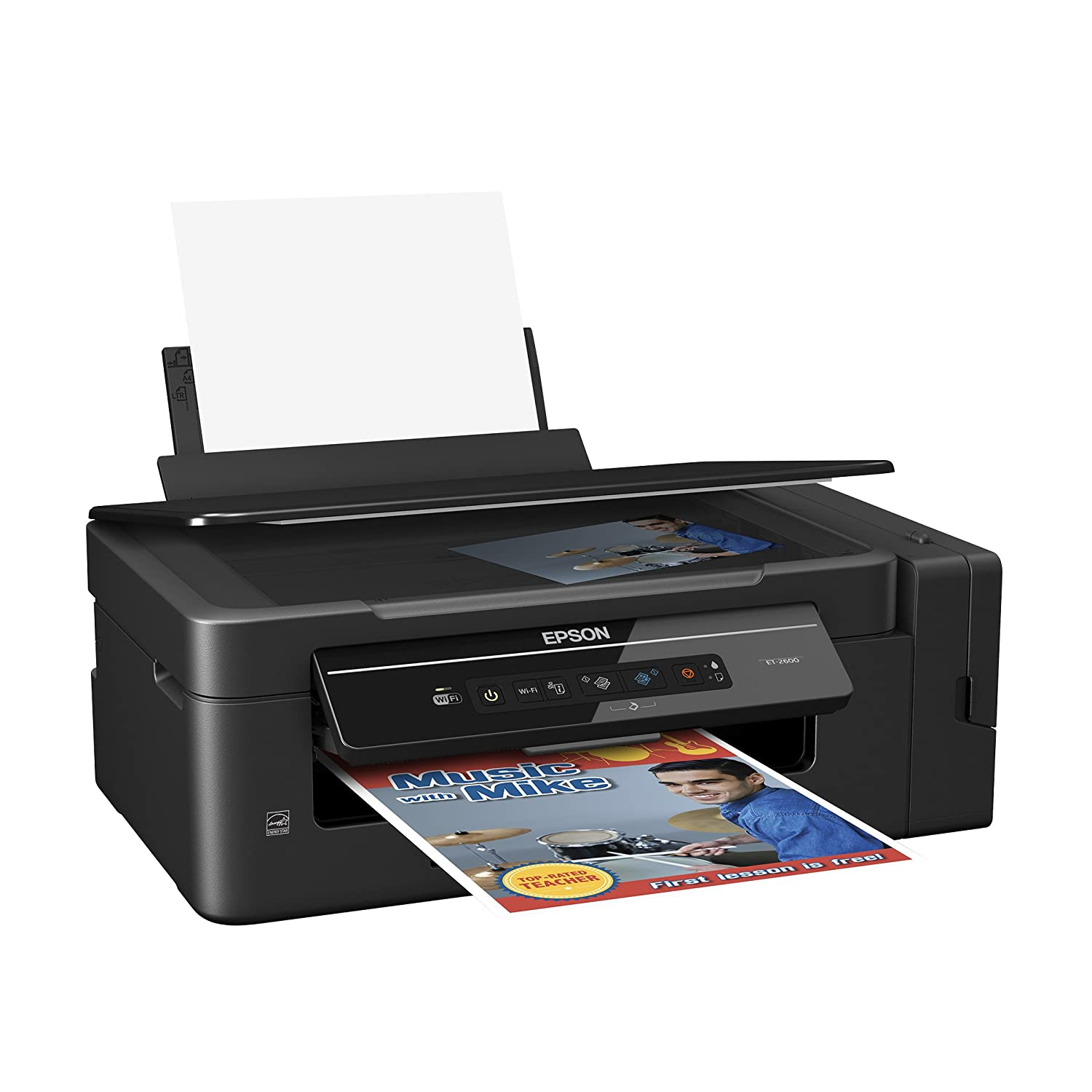Amazon Epson Expression ET 2600 EcoTank All In One Printer With Wireles Print Copy And Scan Technology Electronics