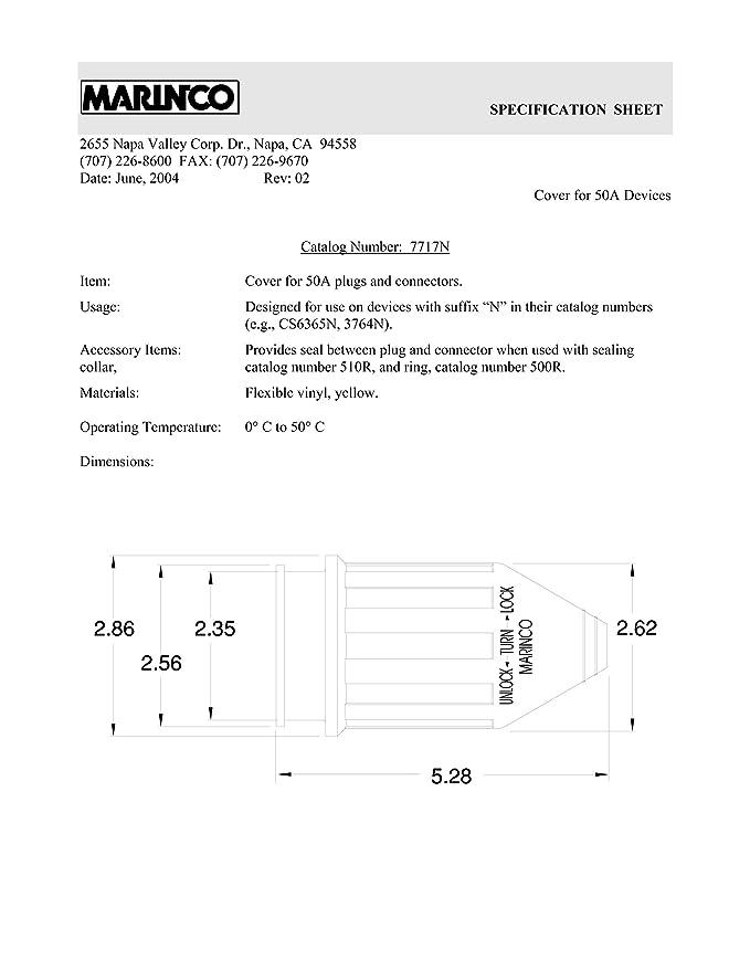 Marinco 30a 125v Wiring Diagram | Wiring Diagram on