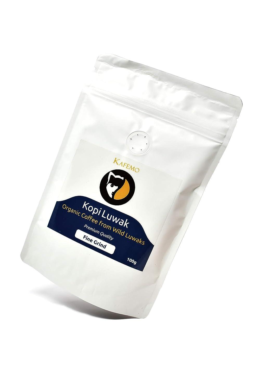 Kopi Luwak Premium (Café de Luwaks silvestres) - Molido Fino ...