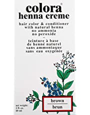 Colora Henna Creme Hair Color Brown 2oz (3 Pack)