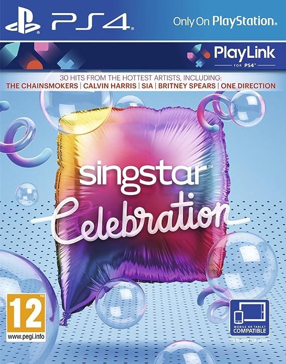 SingStar Celebration - Gamme PlayLink - PlayStation 4 [Importación ...