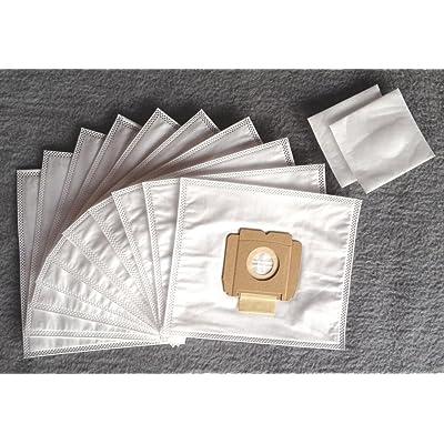 10 Sacs aspirateur compatible pour AEG Vampyrino Space, S, SX, aspirateur sacs à poussière (+2 Filtres NV614)