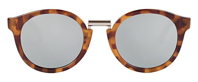 MR.BOHO, Leo tortoise fitzroy with silver lenses - Gafas De Sol unisex multicolor (carey), talla única
