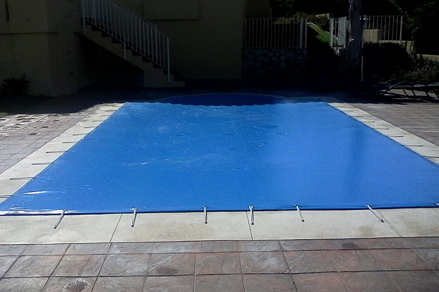 International Cover Pool Lona de Invierno para Piscinas de 4x8 ...