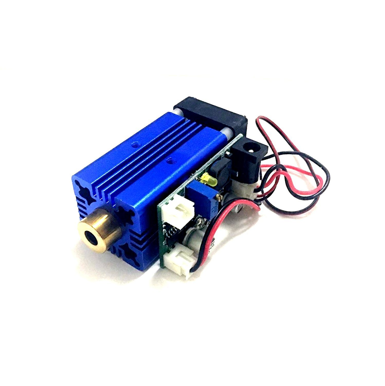 450nm 1000mw 1w High Power Pure Blue Laser Diode Dot Module 12V TTL + Fan Cooling + Long Working