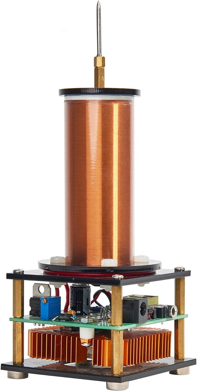 Joytech Music Tesla Coil Arc Plasma Loudspeaker Wireless Transmission Experiment Desktop Toy Model JX17