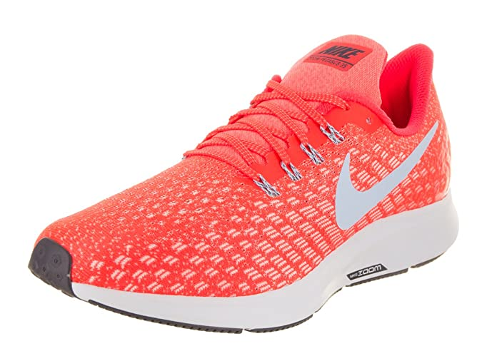 Amazon.com | NIKE Mens Air Zoom Pegasus 35 Running Shoes (14 D US, Bright Crimson/Ice Blue/Sail) | Athletic