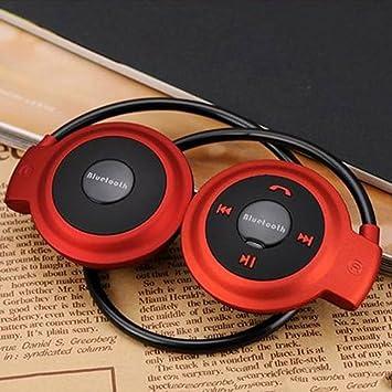 GEZICHTA Mini 503 Auriculares inalámbricos Bluetooth estéreo auriculares auriculares para Samsung iPhone LG, estéreo universal inalámbrico Bluetooth 4.0 ...