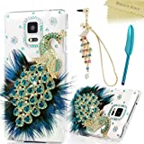Galaxy Note 4 Case, 3D Handmade Bling Crystal