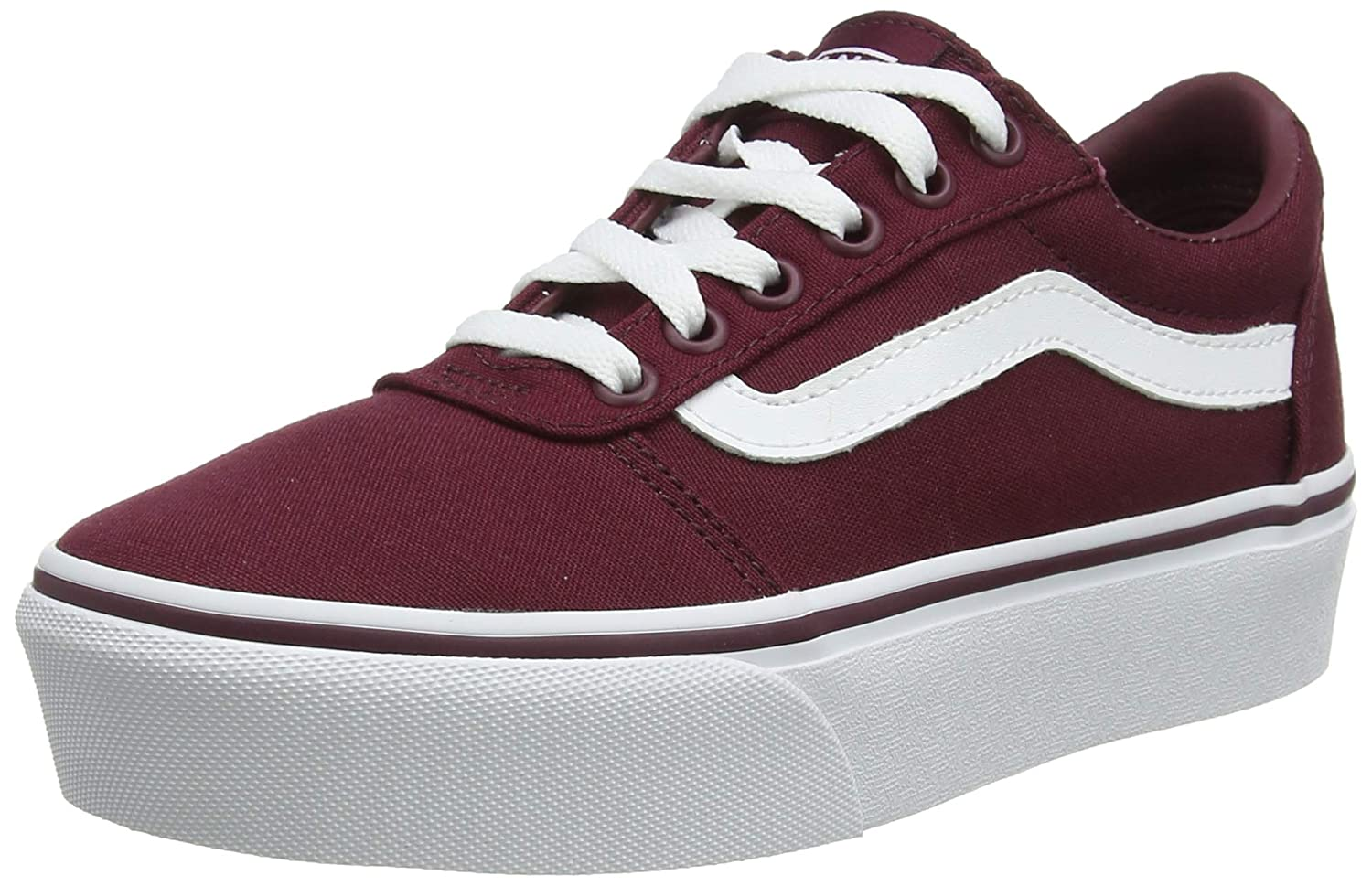 vans ward platform canvas