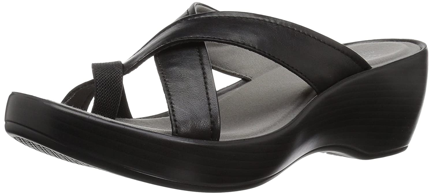 Eastland Women's Willow Slide Sandal B076QMHH4K 6 B(M) US|Black