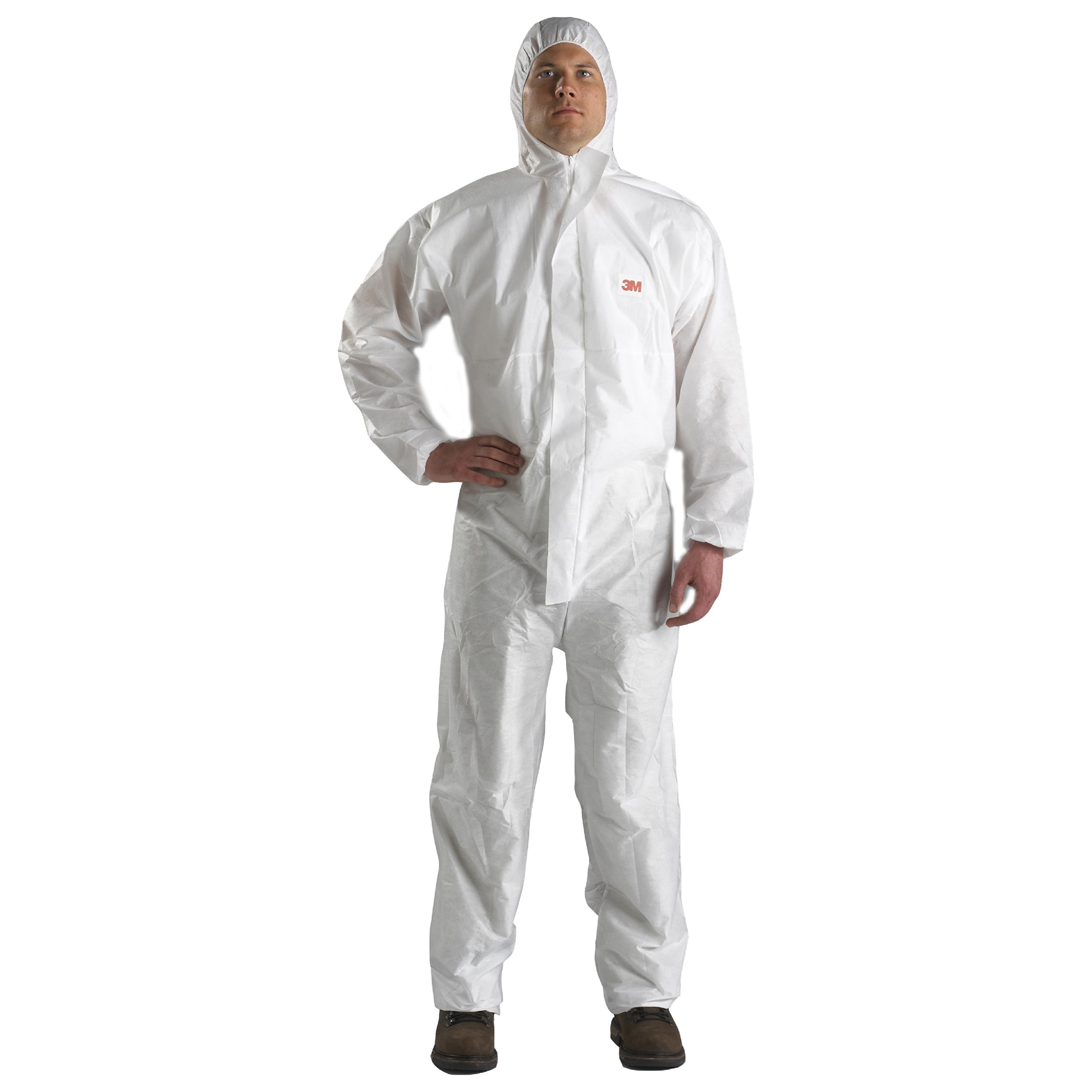 3M 46769 Disposable Protective Coverall Safety Work Wear 4520-M/46768(AAD), SMS Based, Medium, White