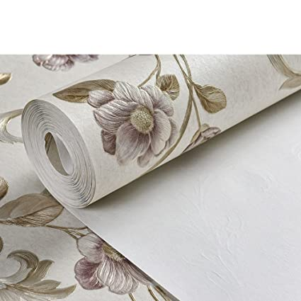 Dxg Fx Deep Embossedabpastoral Wallpaper Carving Nonwoven Wallpaper