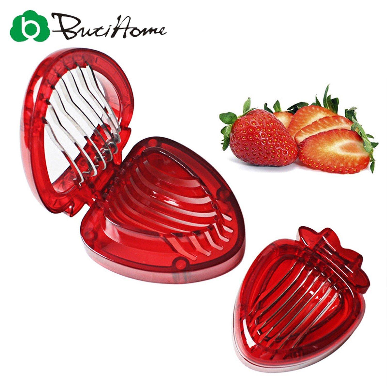 Convenient Durable Kitchen Tools Creative Strawberry Slicer Fruit Slicer Vegetable Fruit Tool Kitchen Accessories