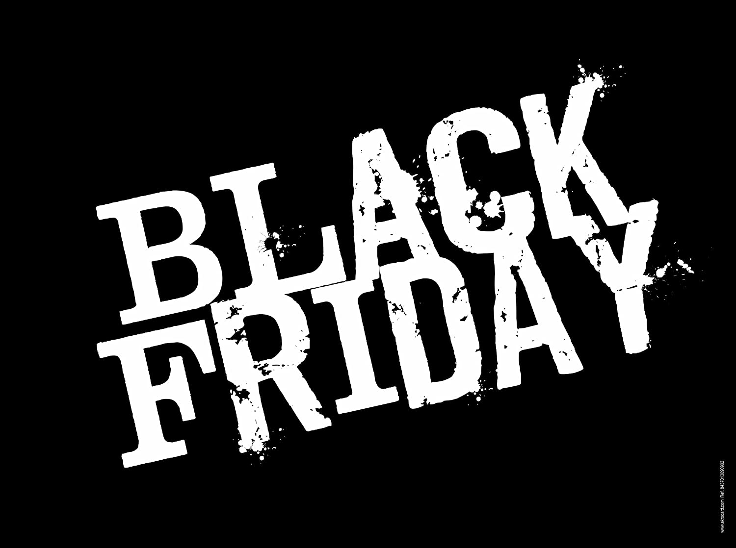 akrocard Cartel Resistente PVC - Black Friday - Señaletica ...