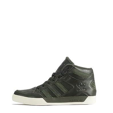 adidas Originals Hardcourt Hi Waxy Herren Sneaker, Grün