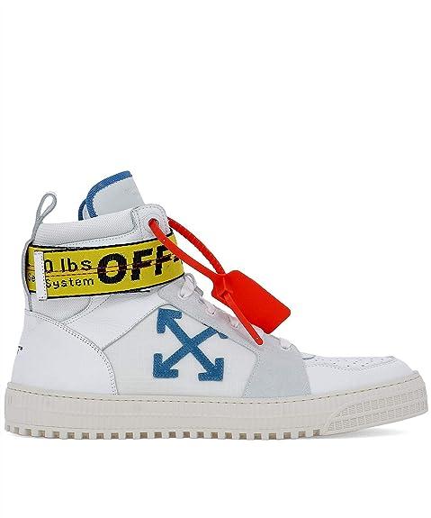 OFF-WHITE - Zapatillas para Hombre Blanco IT - Marke Größe, Color, Talla 44 EU: Amazon.es: Zapatos y complementos