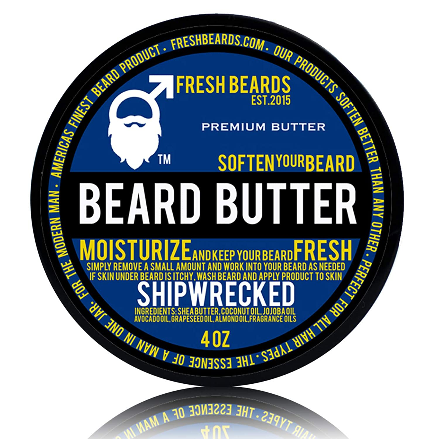 """Shipwrecked"" Beard Butter Fresh Beards"