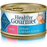 Blue Healthy Gourmet Adult Pate Indoor Chicken Wet Cat Food 3-oz (Pack of 24)