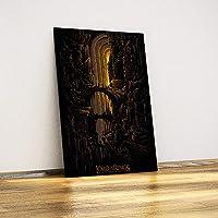 Javvuz - Yüzüklerin Efendisi - Moria Madenleri - Metal Poster