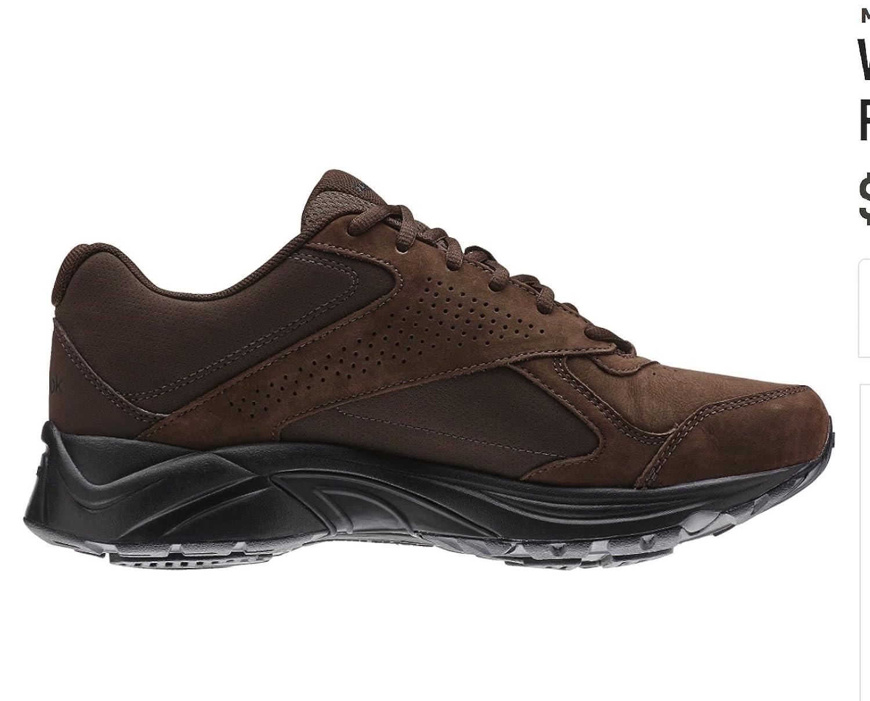 6bb8640dd1 Reebok Men's Ultra V DMX Max Walking Shoe Brown 12 D(M) US: Amazon ...