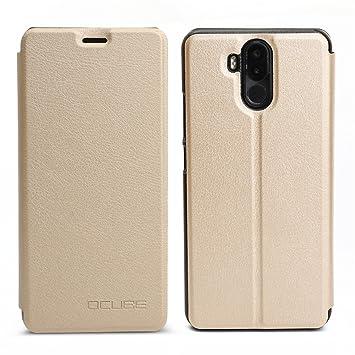 Funda para Ulefone Power 3 con Soporte Plegable, Carcasa con Absorción de Impactos y Anti-Arañazos Espalda Case Cover para Ulefone Power 3 Cubierta de ...