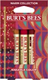 Burts Bees Kissable Color Warm Collection, 3 count