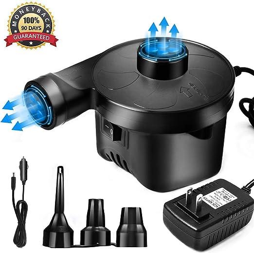 Amazon.com: Bomba de aire portátil eléctrica ...