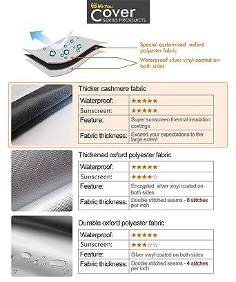 Tela Standard,Profundidad de 45~55cm Mr.You Funda para Lavadora Carga Frontal Impermeable a Prueba de Polvo 1 a/ño de garant/ía Limitada