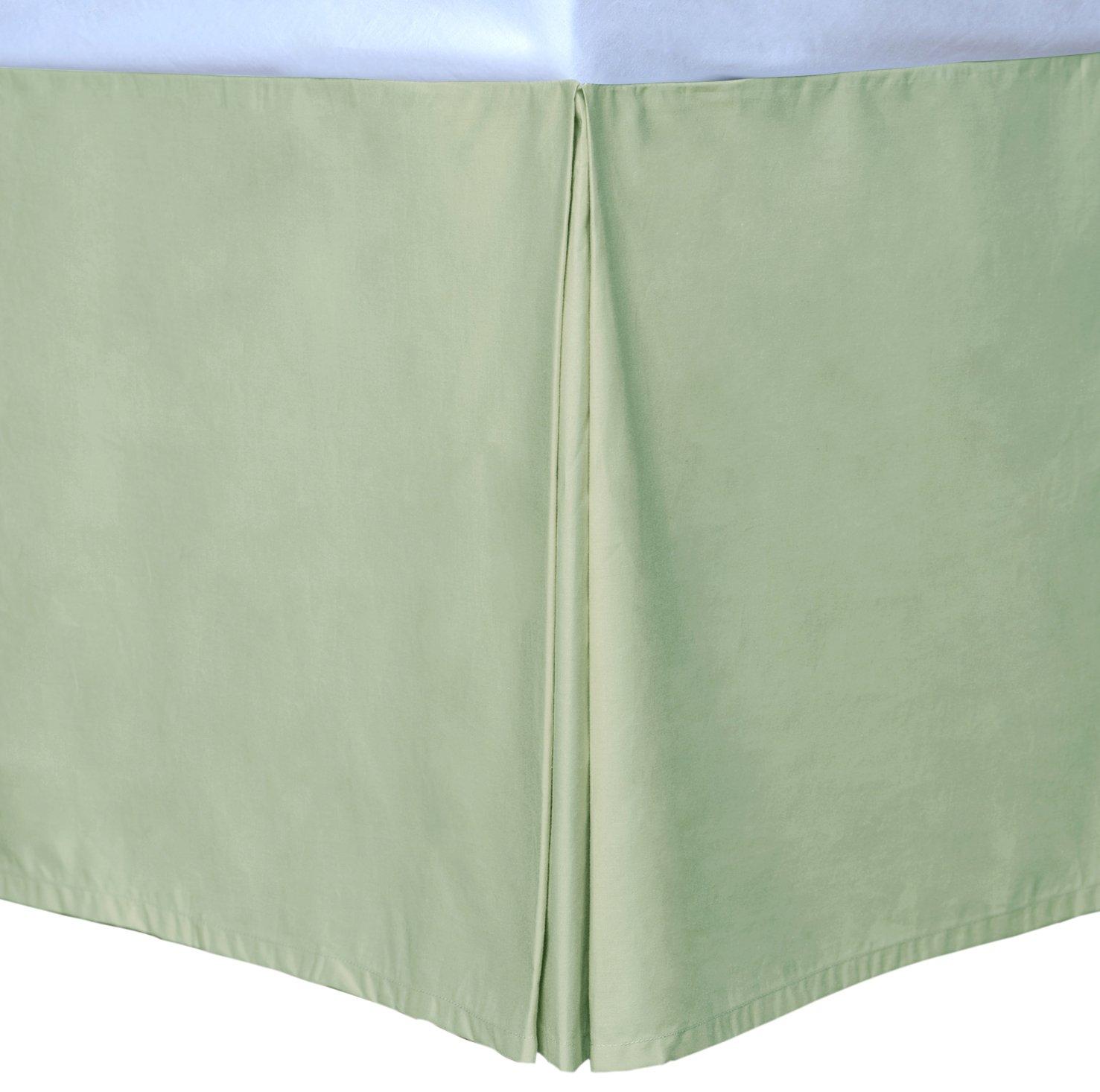 2010390 Sage California King Cottonloft Colors Bed Skirt Epoch Hometex Inc