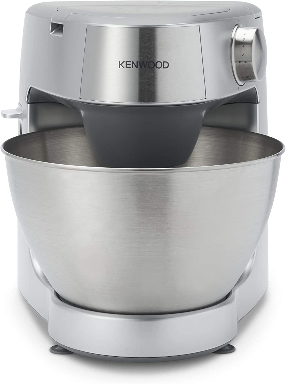 Kenwood Prospero+ KHC29.P0SI - Robot de Cocina 1000W (3 herramientas de bol, batidora de vaso de cristal 1.5L, procesador alimentos 1.4L, tres discos, exprimidor, picadora de carne, licuadora) plata