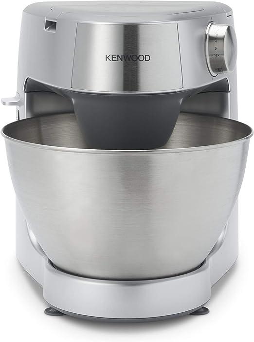 Kenwood Prospero+ KHC29.H0WH - Robot de cocina multifunción, bol 4.3 L, mezclar, batir y amasar, batidora de vaso de cristal 1.5 L, procesador de alimentos 1.4 L con 2 discos y exprimidor,