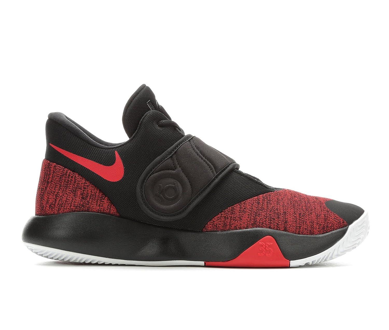 NIKE Men's KD Trey 5 VI Basketball Shoes B078B1JK6D 7.5 D(M) US|Black/University Red-white