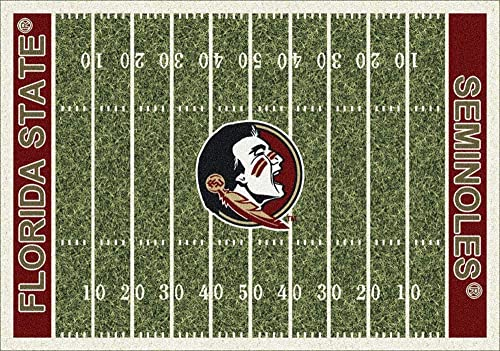 Milliken Florida State College Home Field Area Rug, 10 9 x 13 2 , 01514 Home Field