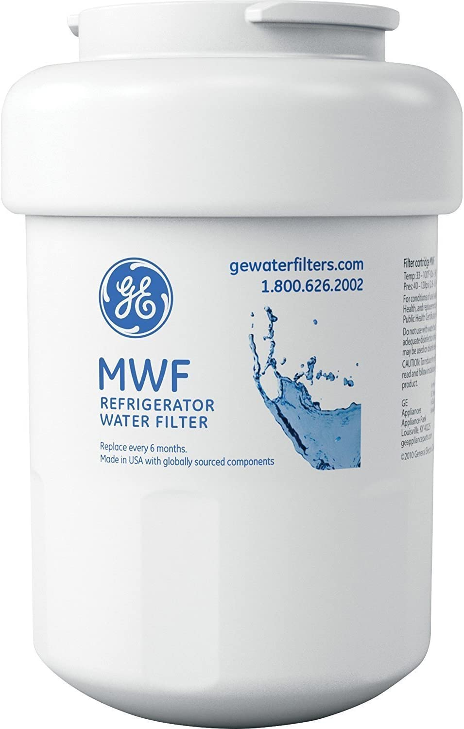 GE MWF Compatible Premium Replacement Refrigerator Water Filter (3)