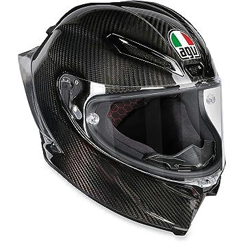 AGV pista GP R casco de fibra de carbono