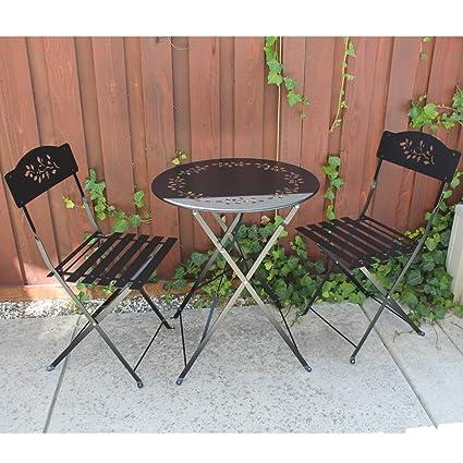 Amazon.com: SUNSITT - Juego de muebles de jardín de 3 piezas ...