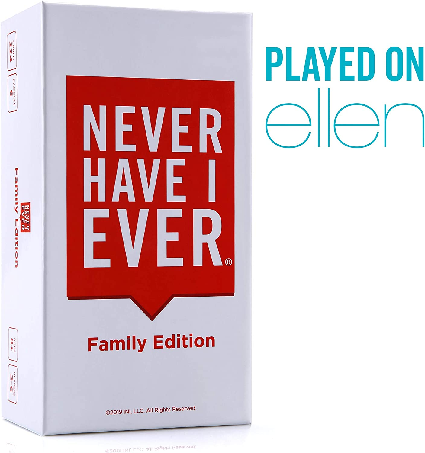 Never Have I Ever   Family Edition Ages 8+   Fun Party Game for The Whole Family - Laugh About Your Past and Relive Your Funny Life Stories