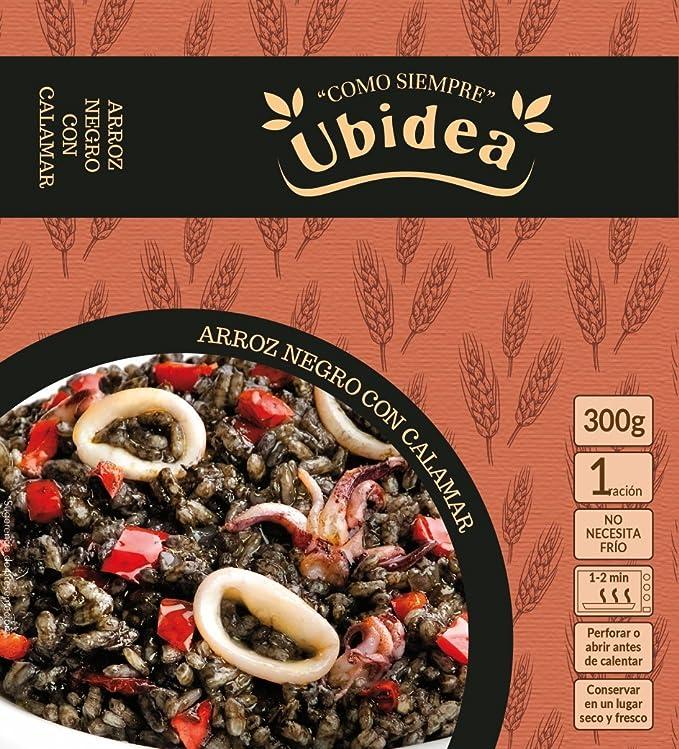 Arroz Negro con Calamar - Ubidea - 3 platos: Amazon.es: Alimentación y bebidas
